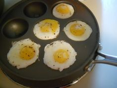 Kitchen Creations | Ebelskiver Pan Fried Eggs