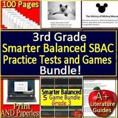image about Printable Sbac Practice Test known as Smarter Nutritious (SBAC) Products
