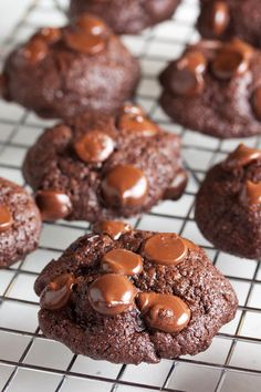 Chocolate Cherry Cookies – full of dark chocolate chunks and brandy ...