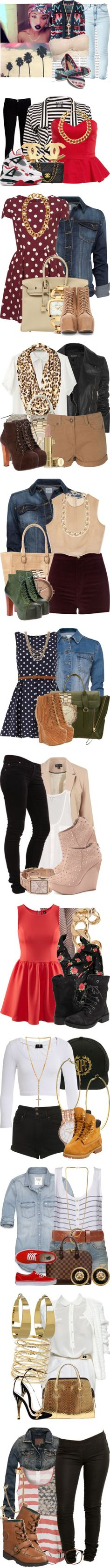 """What I Would Wear"" by jasminesanders-anon ❤ liked on Polyvore"