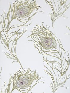peacock feather wallpaper from johnlewis