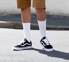 Fine guy tickled in sneakers and black socks