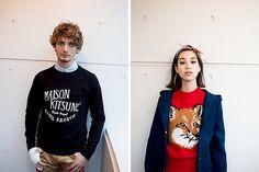 Maison Kitsuné F/W 2013 Lookbook