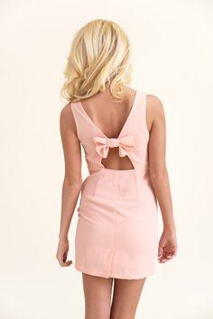 Easter Parade Dress-Peach - Dresses   The Red Dress Boutique
