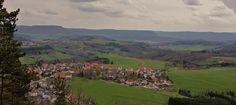 Kreis Göppingen - Frühlingsausblick vom Hohenrechberg - April 2012 von K.-H.Schulz