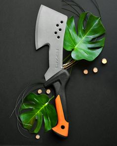Does your backyard need some springclearing? Chop, chop! Our Hatchet is able to quickly chop through thick materials like roots, vines, small branches and more.