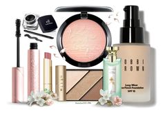 """""""Without a picture"""" by houston555-396 ❤ liked on Polyvore featuring beauty, Bobbi Brown Cosmetics, MAC Cosmetics, Elizabeth Arden, Stila, Too Faced Cosmetics and Bulgari"""