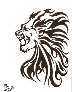 Lion Tattoo @Jessica Cadriel