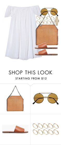 """Sin título #3778"" by hellomissapple on Polyvore featuring moda, STELLA McCARTNEY, Madewell, ASOS y Burberry"