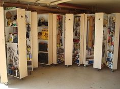 DIY Garage Clutter Buster Guide The Rolling Book Tool Shelves