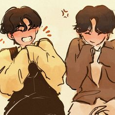 "lils!🌱 on Instagram: ""sweater paws pals!!🥺❤️ - - #taekook #bts #btsfanart #jungkook #v #taehyung P.s sorry for the he spam today!"""