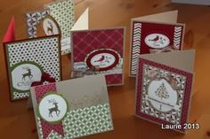 Christmas cards - Act of Stamping