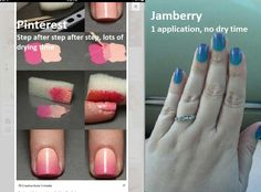 Nail wraps vs polish DYI with Jamberry http://wrapmynails2.jamberrynails.net/