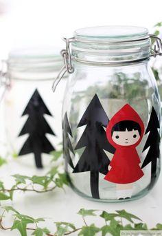 ❥Little Red Riding Hood Kids Christmas, Christmas Crafts, Diy For Kids, Crafts For Kids, Red Riding Hood Party, Kindergarten Art Lessons, Trash Art, Homemade Costumes, Kids Corner
