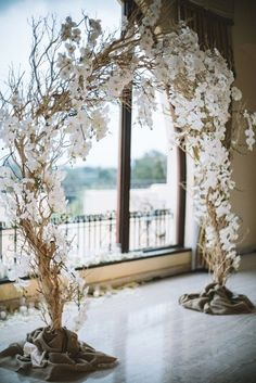 wedding arch 21 Vintage Unique Wedding Orchid Ideas That You Wont Hate in 10 Years! Wedding Altars, Rustic Wedding, White Wedding Arch, Wedding Draping, Wedding Arches, Wedding Veils, Wisteria Wedding, Wedding Flowers, Wedding Colors