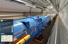 Google Street View takes you inside CERN Large Hadron Collider, Tech Toys, Futuristic Technology, Street View, Science, Scientists, Google, Gadgets, Concept