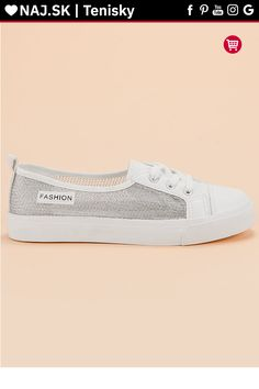 Biele tenisky slip on so sieťou MCKEYLOR Slip On, Sneakers, Shoes, Fashion, Tennis, Moda, Slippers, Zapatos, Shoes Outlet