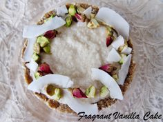 Raw Coconut Cream Tartlette for Two from Fragrant Vanilla Cake