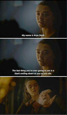 Arya Stark kills Walder Frey - Winds of Winter finale