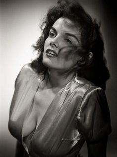 Jane Russell (1921-2011) - American film actress. Photo by George Hurrell