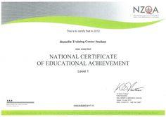 Purpose of each Certificate Level