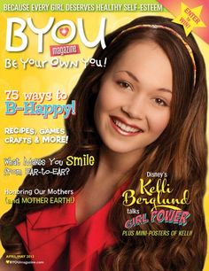 Kelli Berglund Looks Amazing On The Cover Of BYOU Magazine's April/May 2013 Issue