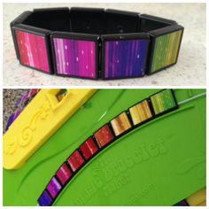 Day 5: Rainbow Image Bracelet! Create awesome effects at http://friendship-bracelet-blog.myfbm.com/rainbowchallenge/day-5/ and share yours #myfbm #rainbowchallenge to win!