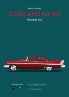 Car from Christine. CarsAndFilms by Jesús Prudencio