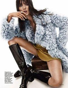 Blanca Padilla by Jonathan Segade for Telva Magazine Nov 2014 _