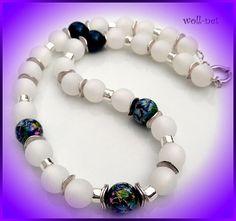 """Ketten kurz - Kette, Polaris, Tensha-Beads  """"EMILIA"""" - ein Designerstück von woll-net bei DaWanda"""