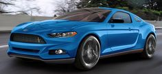 Ford Mustang 2014 mit 2.3 l EcoBoost Motor