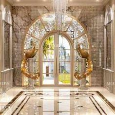 villa entrance design for dubai