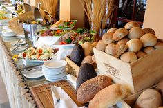 The popular buffet dinner at Sossusvlei Lodge will leave you spoiled for choice!