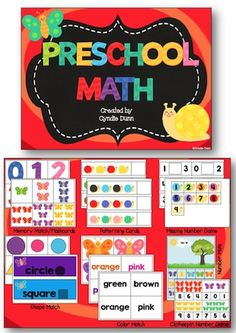 Explore Preschool Math Games with Colorful Butterflies - Review - Simple Living Mama