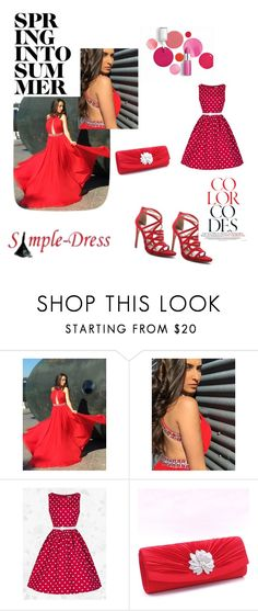 """""""simple-dress 18"""" by denisao ❤ liked on Polyvore featuring Qupid and Clinique"""