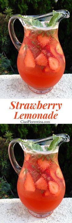 Strawberry Lemonade | CiaoFlorentina.com