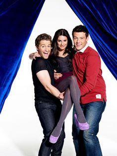 Cory Monteith, Lea Michele, ...
