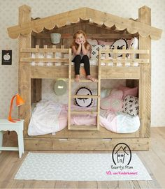 Adorable bunk beds