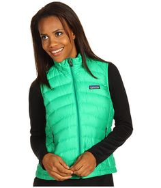 Patagonia Down Sweater Vest Brilliant Green - Zappos.com Free Shipping BOTH Ways