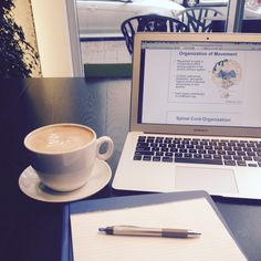 "something-brighter: "" Getting ready to begin my study session at my favorite cafe! Wish me luck… I'm gonna need it """