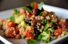 Sałatka quinoa (z komosą ryżową)