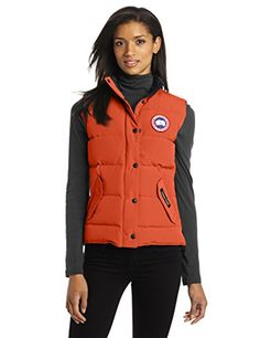 Canada Goose Womens Freestyle Vest Amber XXSmall * Find out more about the great product at the image link.