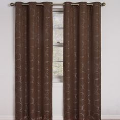Eclipse Curtains Meridian Window Curtain Single Panel & Reviews | Wayfair
