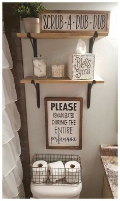 diy home decor - Please Remain Seated During Entire Performance Wood Signs Bathroom Decor Funny Bathroom Sign Over the Toilet Sign Farmhouse Sign Funny Bathroom Decor, Bathroom Humor, Bathroom Crafts, Farmhouse Decor Bathroom, Bathroom Designs, Kids Bathroom Organization, Signs For Bathroom, Country Bathrooms, Bathrooms Decor
