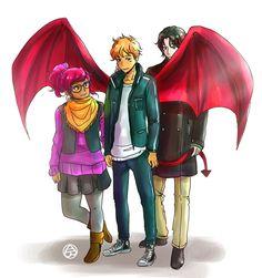 Penny, Simon, and Baz