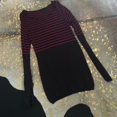 GAP SWEATER SZ S Pink and gray striped. GAP Sweaters