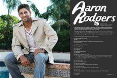 Aaron Rodgers, elevee Lifestyle magazine