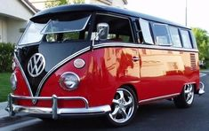 Black & Red VW 2nd Gen. - OMG! I'm having heart palpitations!!  I WANT!!  But, I want it NOW, Daddy!!!