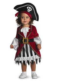 Pirate Princess Toddler Costume - The Costume Land