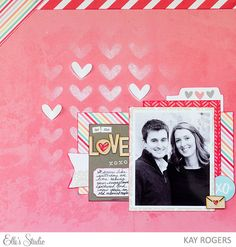 Love by Kay Rogers for Elle's Studio